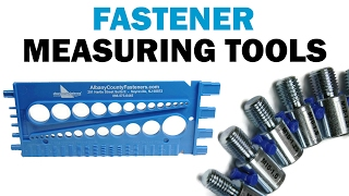 How to Use Fastener Measuring Tools   Fasteners 101