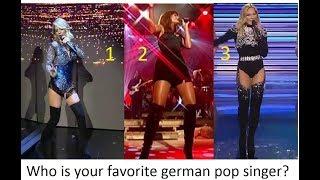 Who is Your favorite german Pop Singer ?