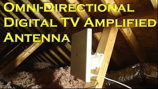 Video Omni-directional Amplified Digital TV Off-Air Antenna - 60 Miles - 1BYONE download MP3, 3GP, MP4, WEBM, AVI, FLV Oktober 2018