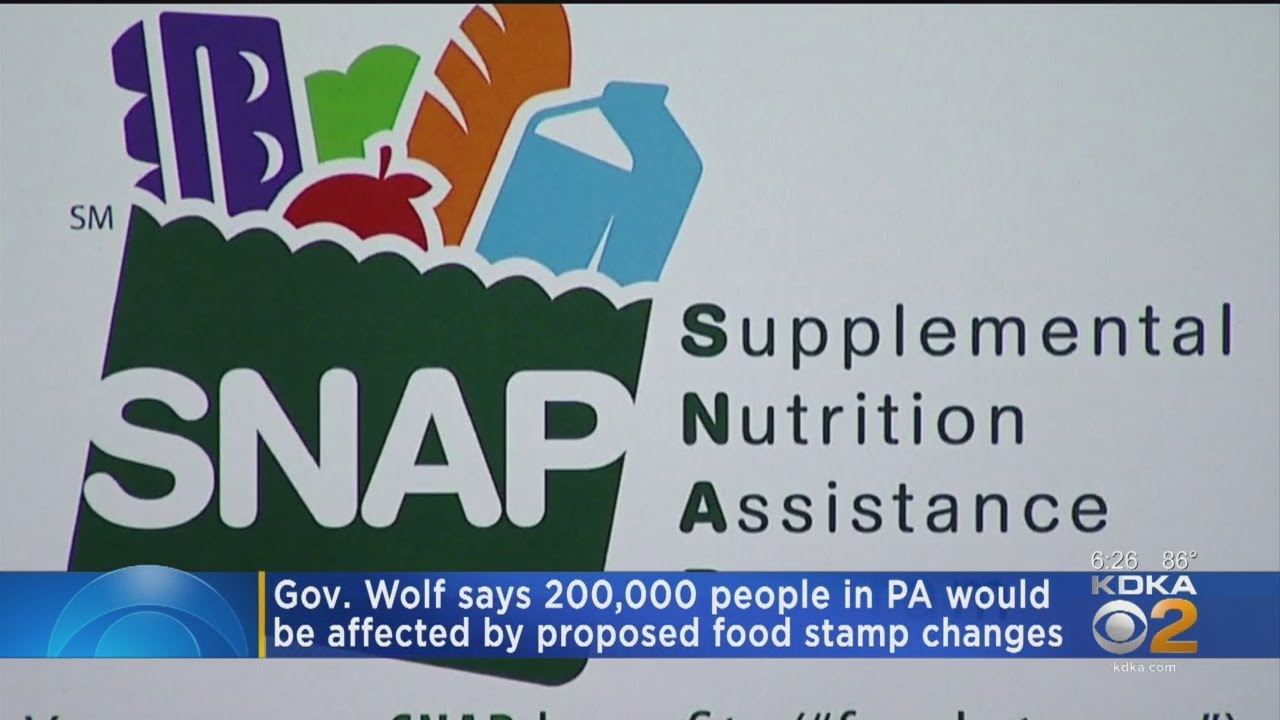 Gov Tom Wolf Warns Trumps Food Stamp Move