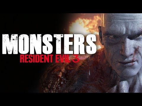 Monsters in Resident Evil 3 Remake – (road to RE3 Remake)