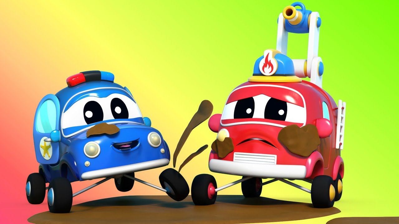 Baby Trucks - BABY CARS learn to be clean at CARWASH | Go ...