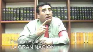 La Gran Nacion - Partido politico - Al Sistema Federal Aleman - entrevista al candidato