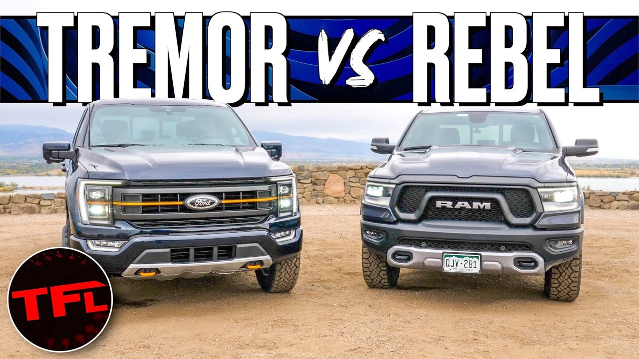 Did The Ford F-150 Tremor Just COMPLETELY Outshine The Ram Rebel? I Take A Closer Look!