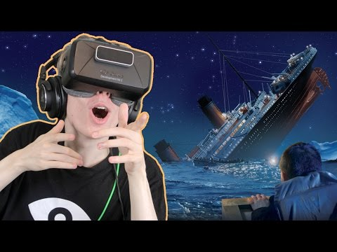 TITANIC SINKING SIMULATOR IN VR | Fall of the Titanic (Oculus Rift: DK2)
