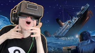 TITANIC SINKING SIMULATOR IN VR | Fall of the Titanic (Oculus Rift: DK2)(A dream come true! You can now escape the Titanic while it's sinking in Virtual Reality. Fall of the Titanic is a indie game that can be played on a monitor or with ..., 2016-02-10T18:45:27.000Z)