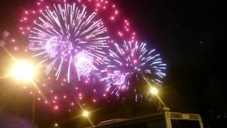 Салют  9 мая. День Победы. Поклонная гора 2015