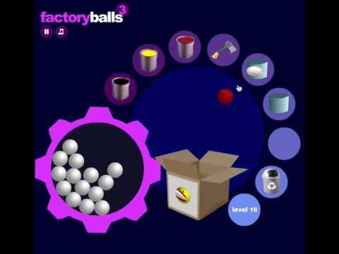 Factory Balls 3 - level 16 - YouTube