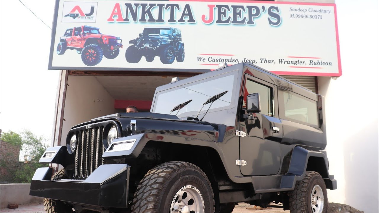 MM550 with crde engine modified into Hammer model by Ankita Jeep's