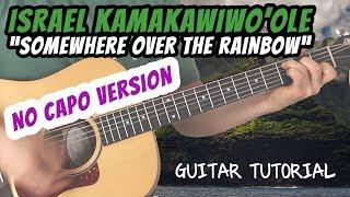 Baixar Israel Kamakawiwo'ole - Somewhere Over The Rainbow - Guitar Lesson (NO CAPO VERSION)