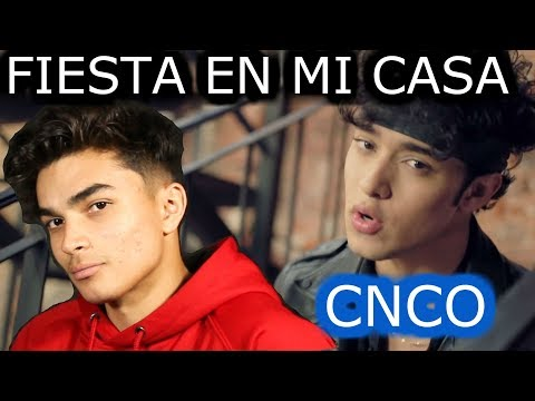 CNCO - FIESTA EN MI CASA REACTION (MY TWIN)