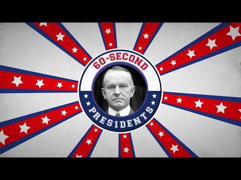 Calvin Coolidge | 60-Second Presidents | PBS