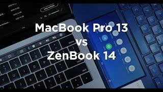 MacBook Pro 13 TouchBar vs ZenBook 14 with ScreenPad 2.0