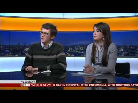 Hadya Alalawi- BBC World News studio