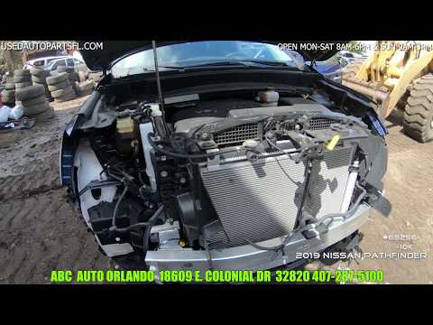 2019 Nissan Pathfinder 3.5 V6 Engine Transmission ABC Used Auto Parts Orlando Junkyard