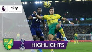 Kurioses Eigentor bei Spurs-Remis | Norwich City - Tottenham Hotspur 2:2 | Highlights