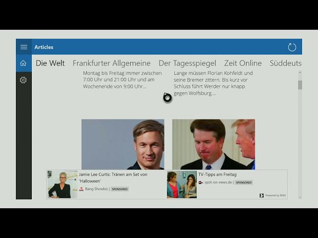 Xbox Apps: Zeitungen - DE auf der Xbox One!