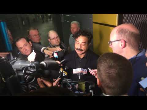 Jaguars owner Shad Khan says clinching the franchise's first playoff berth in 10 years is awesome