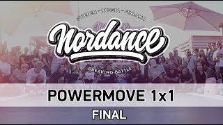 Winger vs Biscuit - Finał Powermove Battle na Nordance 2018