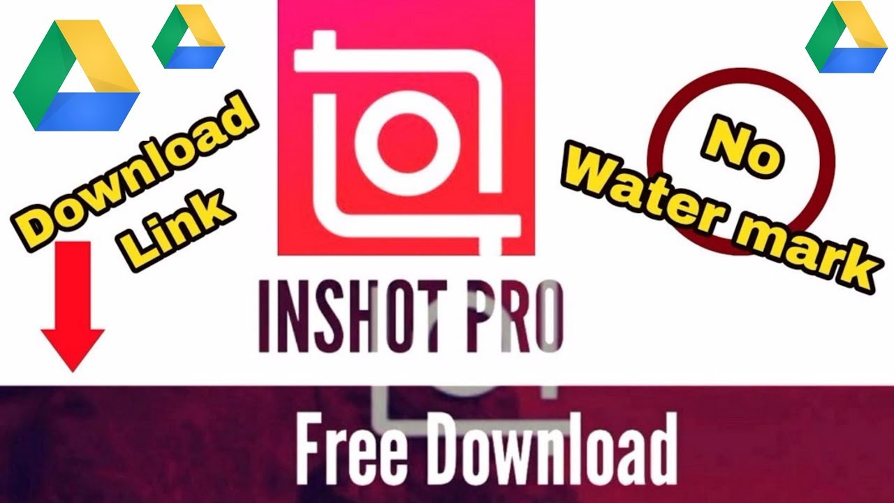 How to download Inshot Pro Apk Free | No watermark | No mod | No ADS | Full  unlocked | Download Link