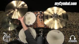 "Sabian 18"" AA Raw Bell Crash Cymbal (2180772-1021315K)"