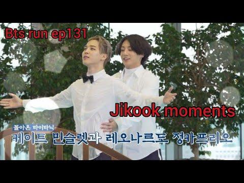 Bts run ep131 Jikook moments [jikook titanic funny]