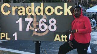 Omar Craddock Triple Jump 17.68 2019