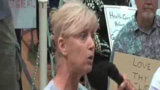 Woman Goes Nuclear At California Town Hall Meeting