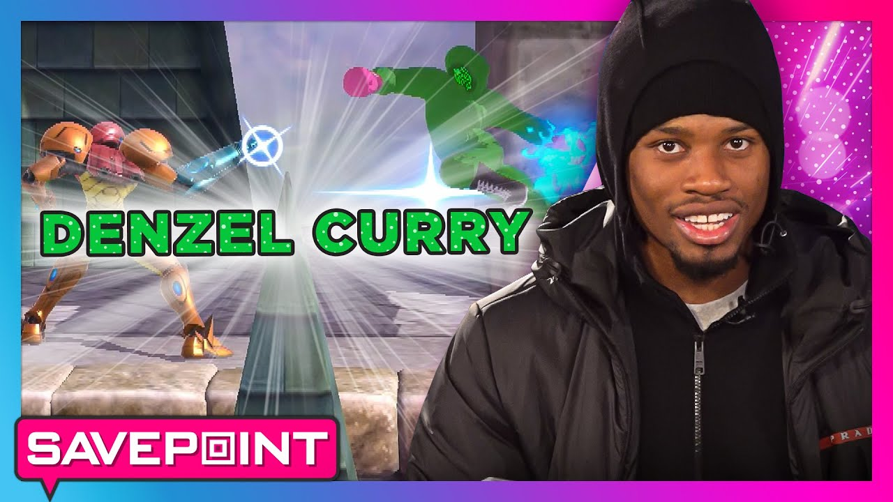 DENZEL CURRY plays MARIO KART and SUPER SMASH BROS.: Savepoint thumbnail