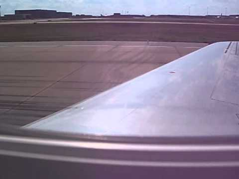Takeoff from Dallas/Ft. Worth to Laredo Texas