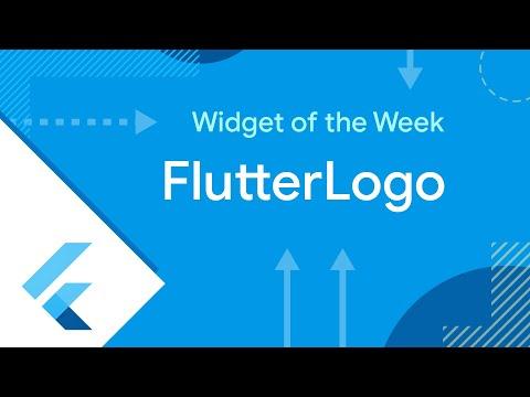 FlutterLogo (100th Widget of the Week!)