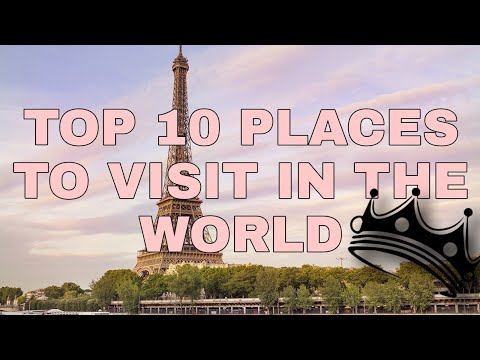 Top 10 tourist attractions in the world!
