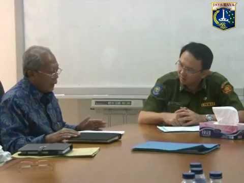 26 Nov 2012 Wagub Provinsi DKI Jakarta  Bpk. Basuki T. Purnama Menerima TransJakarta