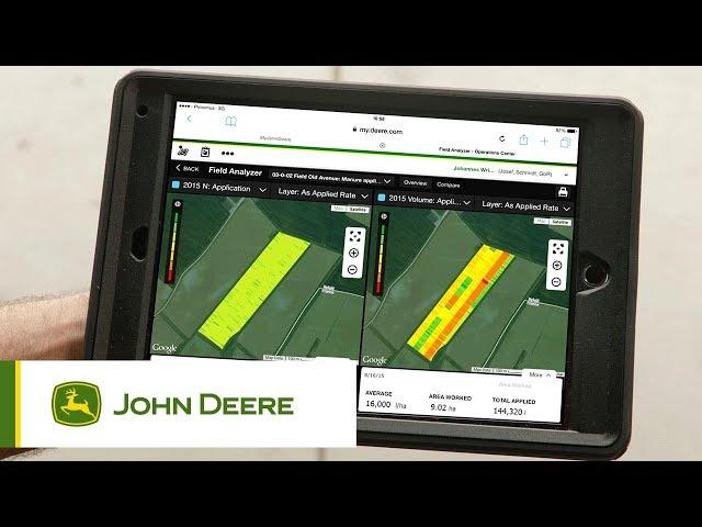 John Deere S700 - #2 Active Yield - Misurazione attiva della resa