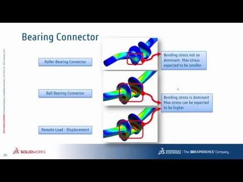 SOLIDWORKS Simulation Step-Up Series: Assembly Connectivity: Other Connectors