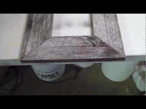 Idiots Guide to Wood Working Barn Wood Frame
