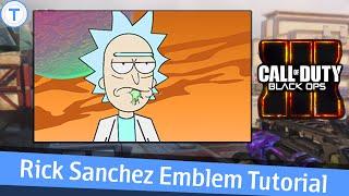 Black Ops 3 Emblem Tutorial - Rick Sanchez ( Rick and Morty )
