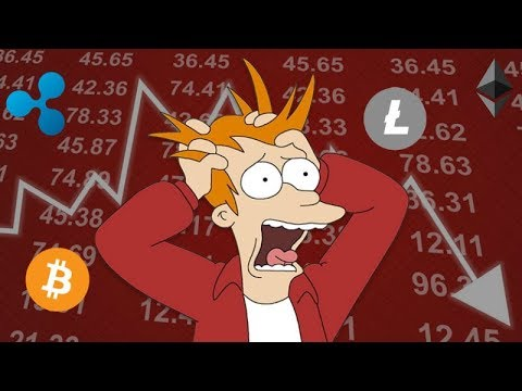Why the Cryptocurrency Market is Down right now - January Bear Market Down Trend