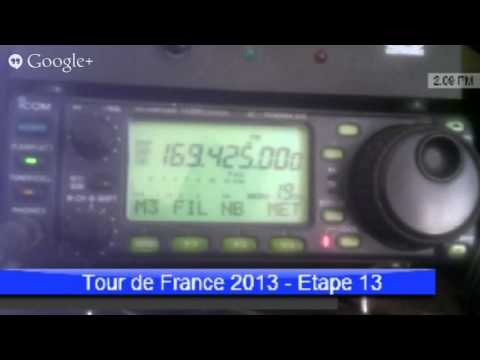Etape 13 tour de France - Radio tour vhf