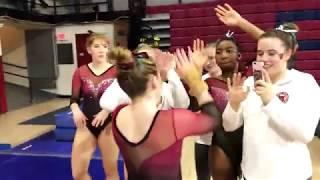 Ursinus Gymnastics NCGA East Motivation 2018