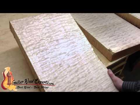 Figured Maple Guitar Wood