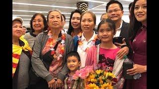 Blogger Mẹ Nấm và gia đình đặt chân đến Houston, Texas
