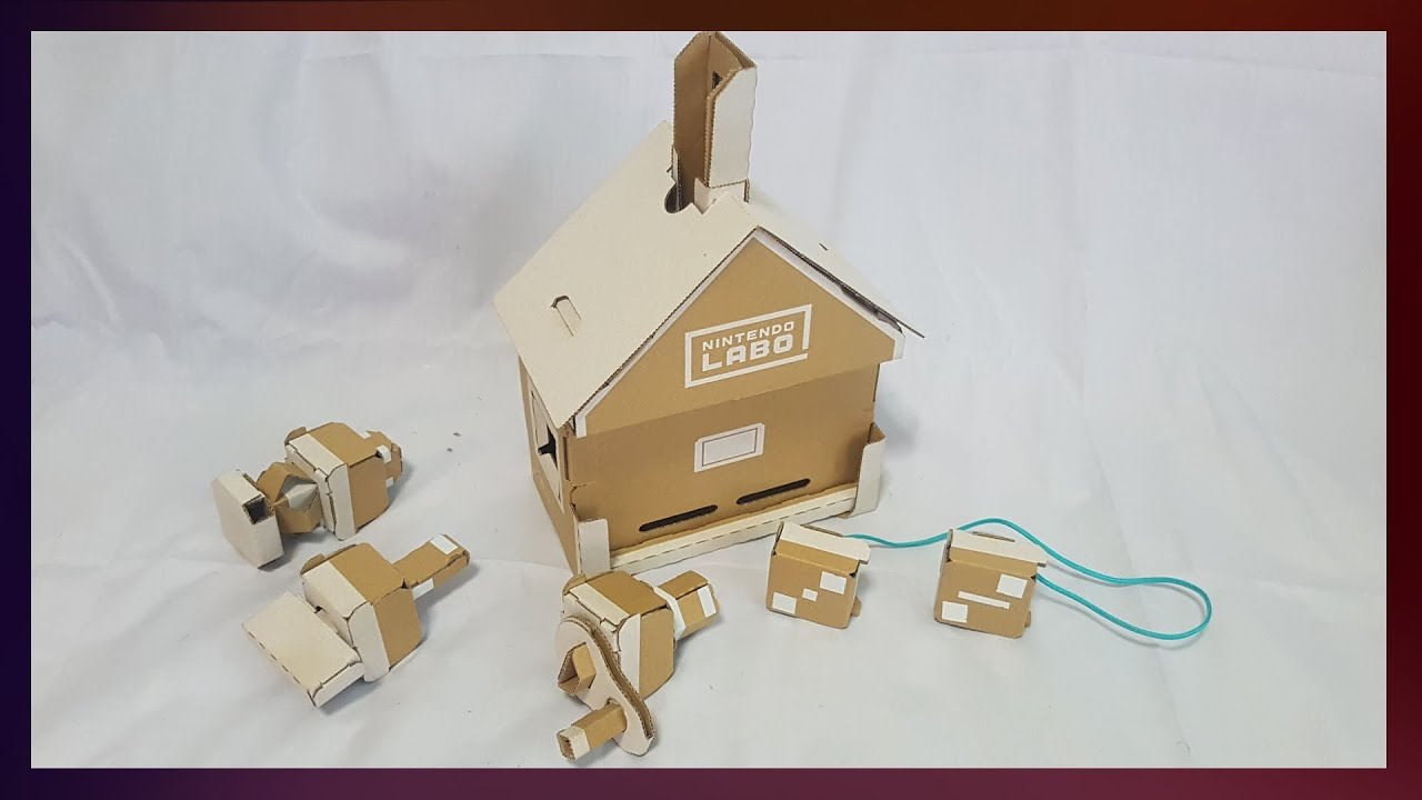 Nintendo Labo Toy Con House Review