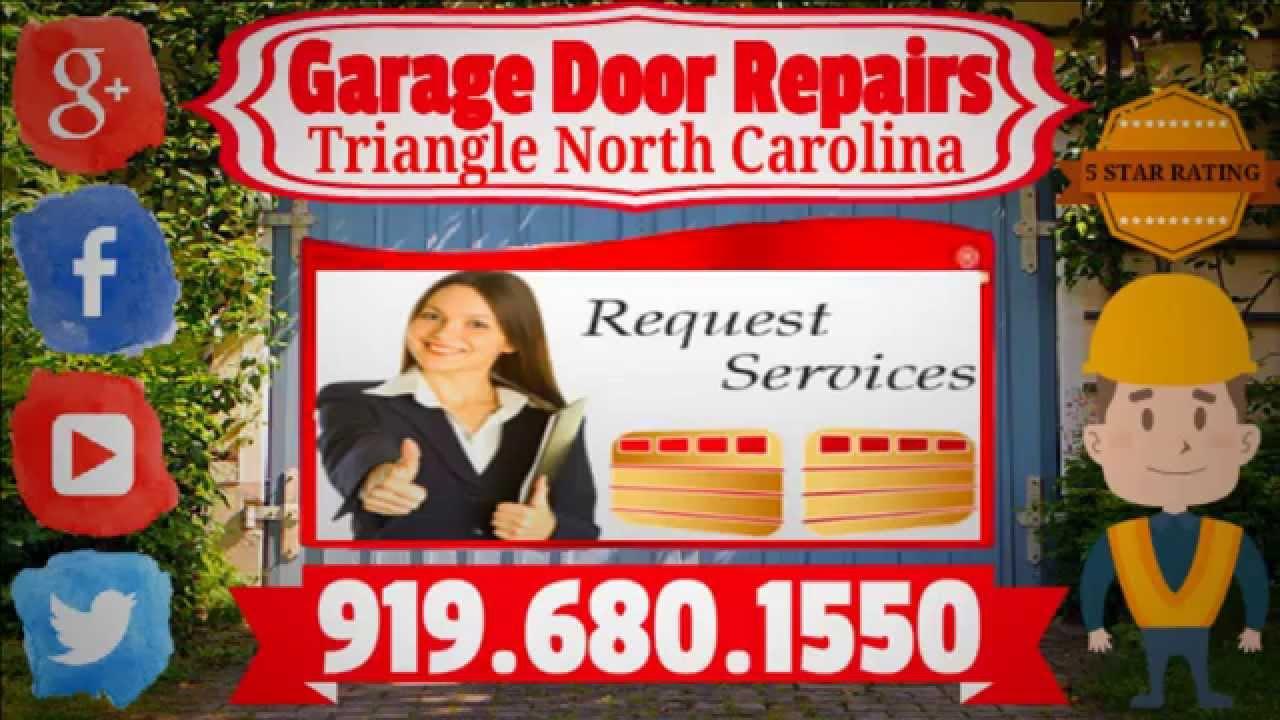 garage door repair raleigh ncCommercial Garage Door Repairs Raleigh North Carolina 919 680