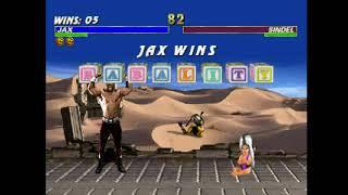 Mortal Kombat Trilogy (PSX) - Longplay as MK2 Jax thumbnail