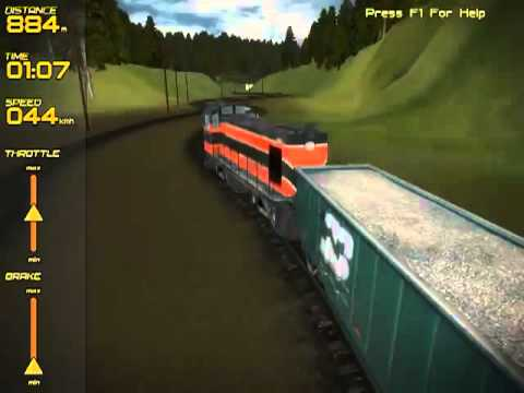 jeux vid o pc freight train simulator youtube. Black Bedroom Furniture Sets. Home Design Ideas