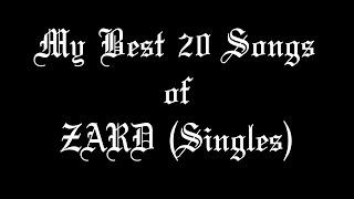 My Favorite ZARD Songs.