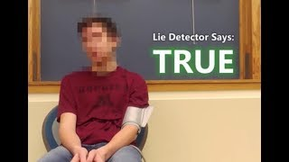 TIME TRAVELER From 2030 Passes Lie Detector Test - CAUGHT ON CAMERA | What's Trending Now!