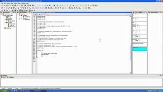 Работа с программой Code Vision