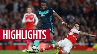 MATCH HIGHLIGHTS | Arsenal v Boro, October 2016